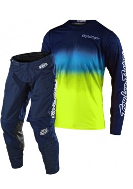 2020 Troy Lee Designs TLD GP AIR STAIND Motocross Gear Navy Yellow