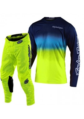 2020 Troy Lee Designs TLD GP AIR STAIND Motocross Gear Yellow Navy