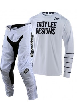 2020 Troy Lee Designs TLD GP AIR PINSTRIPE Motocross Gear White White