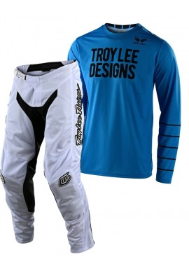 2020 Troy Lee Designs TLD GP AIR PINSTRIPE Motocross Gear Ocean White