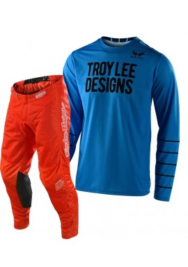 2020 Troy Lee Designs TLD GP AIR PINSTRIPE Motocross Gear Ocean Orange