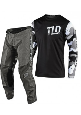2020 Troy Lee Designs Camo Youth Kids TLD GP Motocross Gear Grey