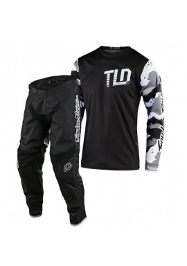 2020 Troy Lee Designs Camo Youth Kids TLD GP Motocross Gear Black